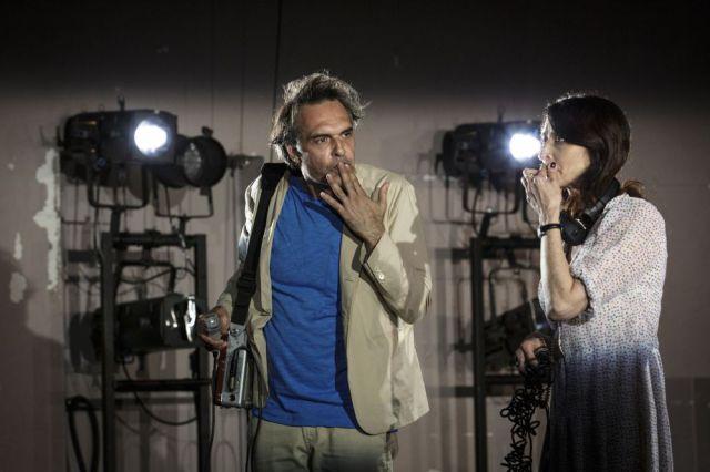 Nicolas Bouchaud, Judith Henry dans l'exercice de l'interview