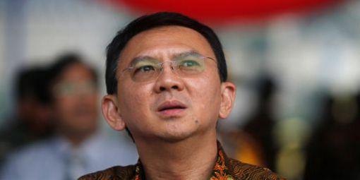 Basuki Tjahaja Purnama, alias Ahok, battu au second de l'élection du gouverneur de Jakarta (19 avril 2017). © Reuters