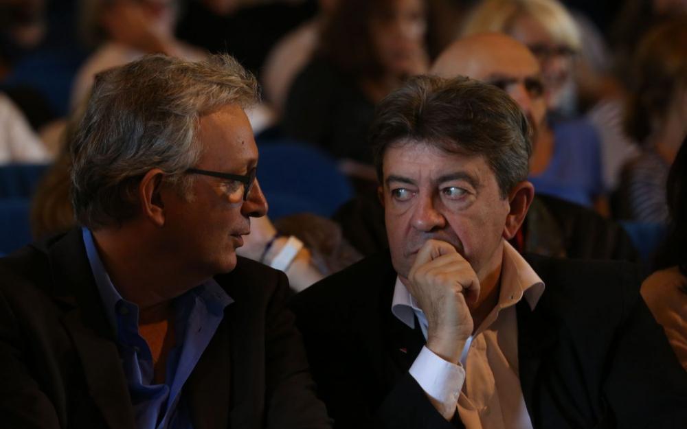 Pierre Laurent et Jean-Luc Mélenchon en 2014.  (LP/OLIVIER LEJEUNE.)