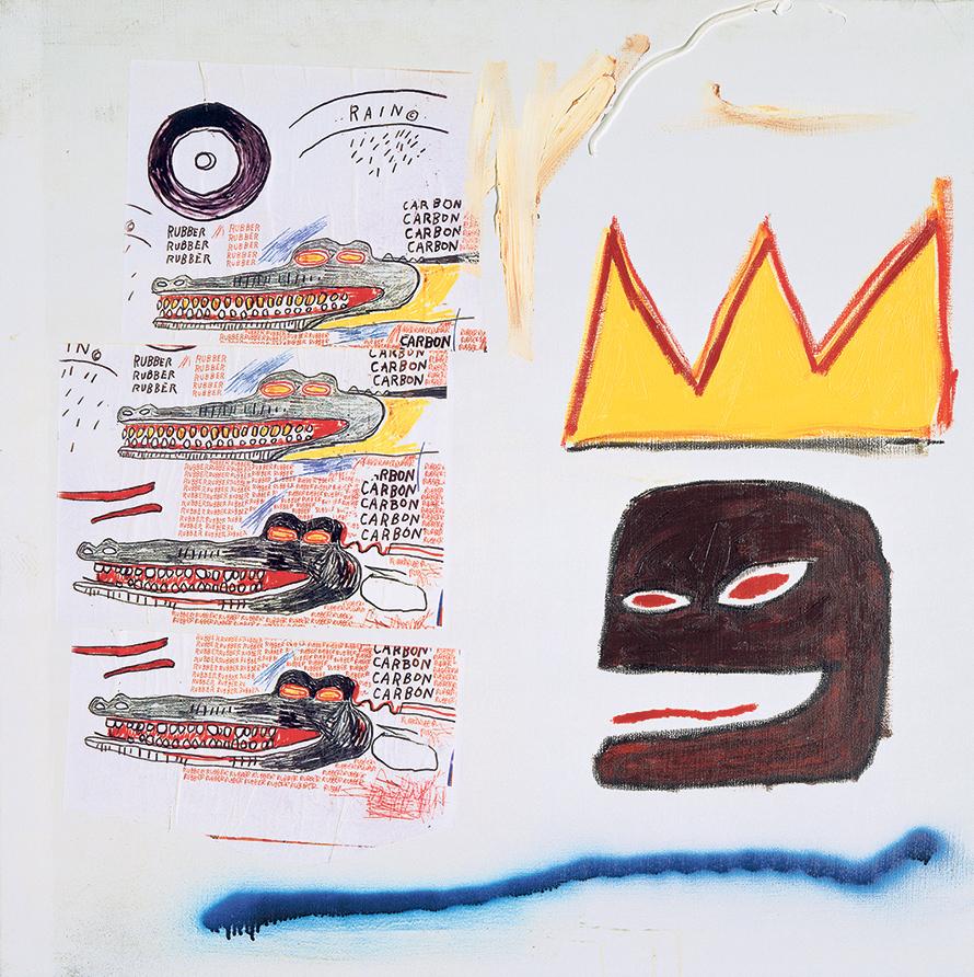 Jean-Michel Basquiat. – Sans titre, 1984 ADAGP - Christie's Images - Bridgeman