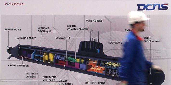 La justice française s'intéresse à la vente en 2008 de cinq sous-marins par la France au Brésil (Reuters)