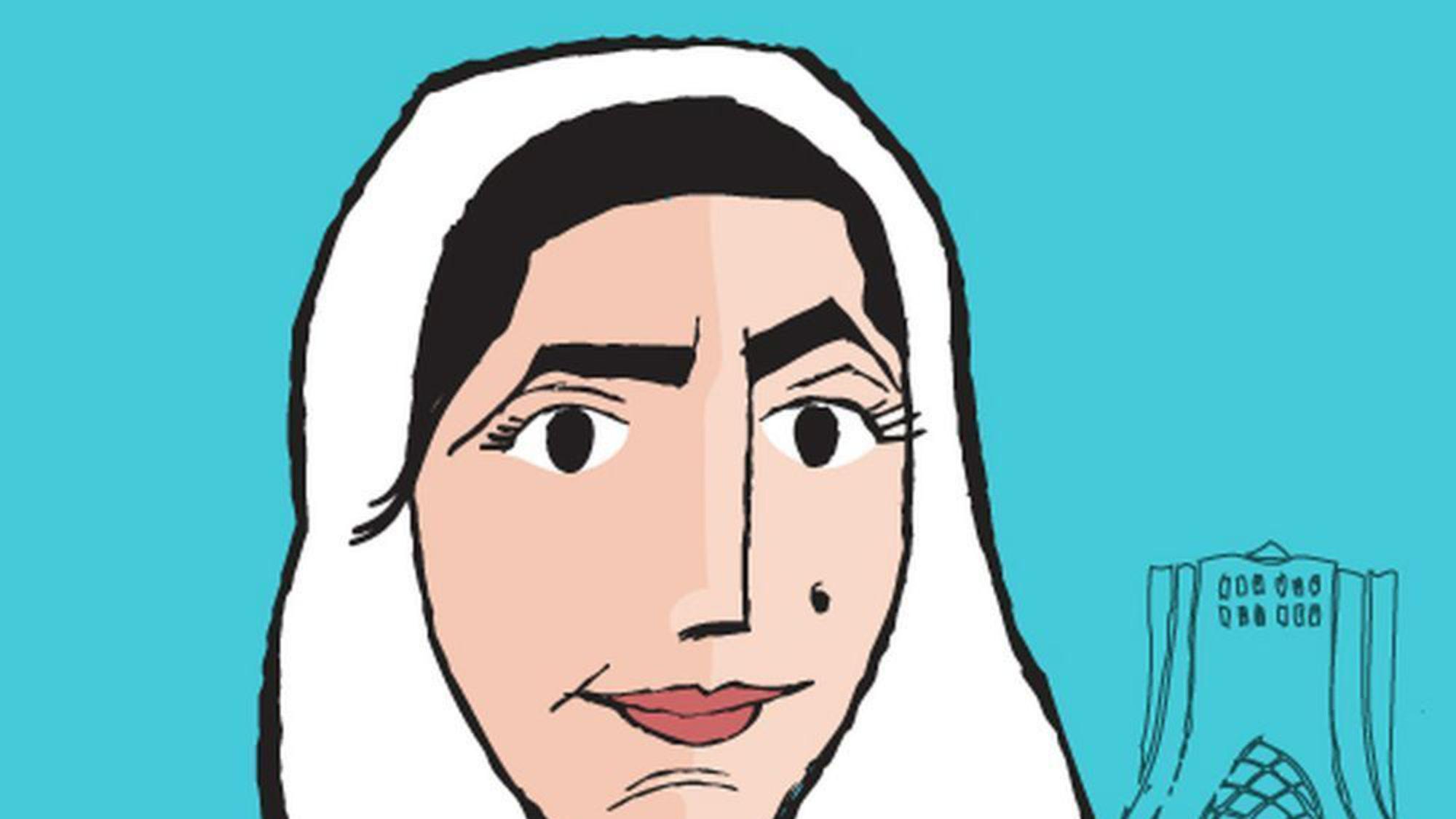 Zahra, l'héroïne de bande-dessinée créée par Amir Soltani était candidate à l'élection présidentielle iranienne en 2013