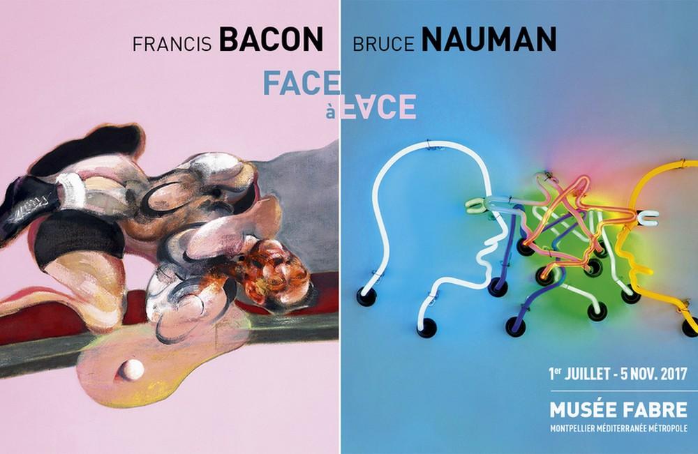 Francis  Bacon  et Bruce Nauman, un face à face  sidérant au Musée Fabre de Montpellier
