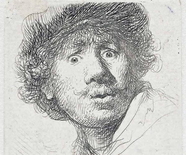 La Gravure de Rembrandt.  Photo dr