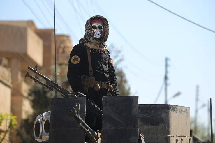 Un membre des forces irakiennes antiterroriste• Crédits : AHMAD AL-RUBAYE - AFP