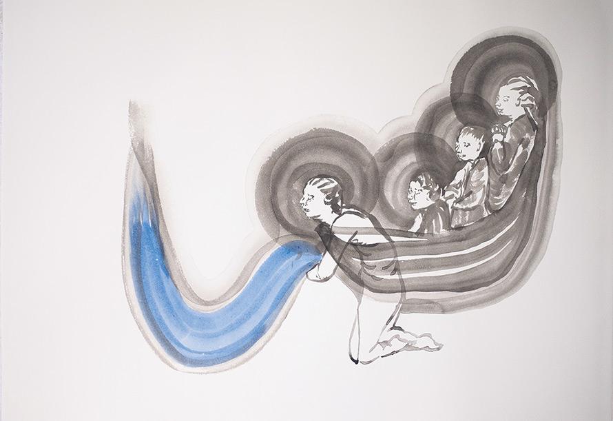 Cécile Carrière. — de la série « Barques », 2014 cecilecarriere.fr - Collection Fondation François Schneider