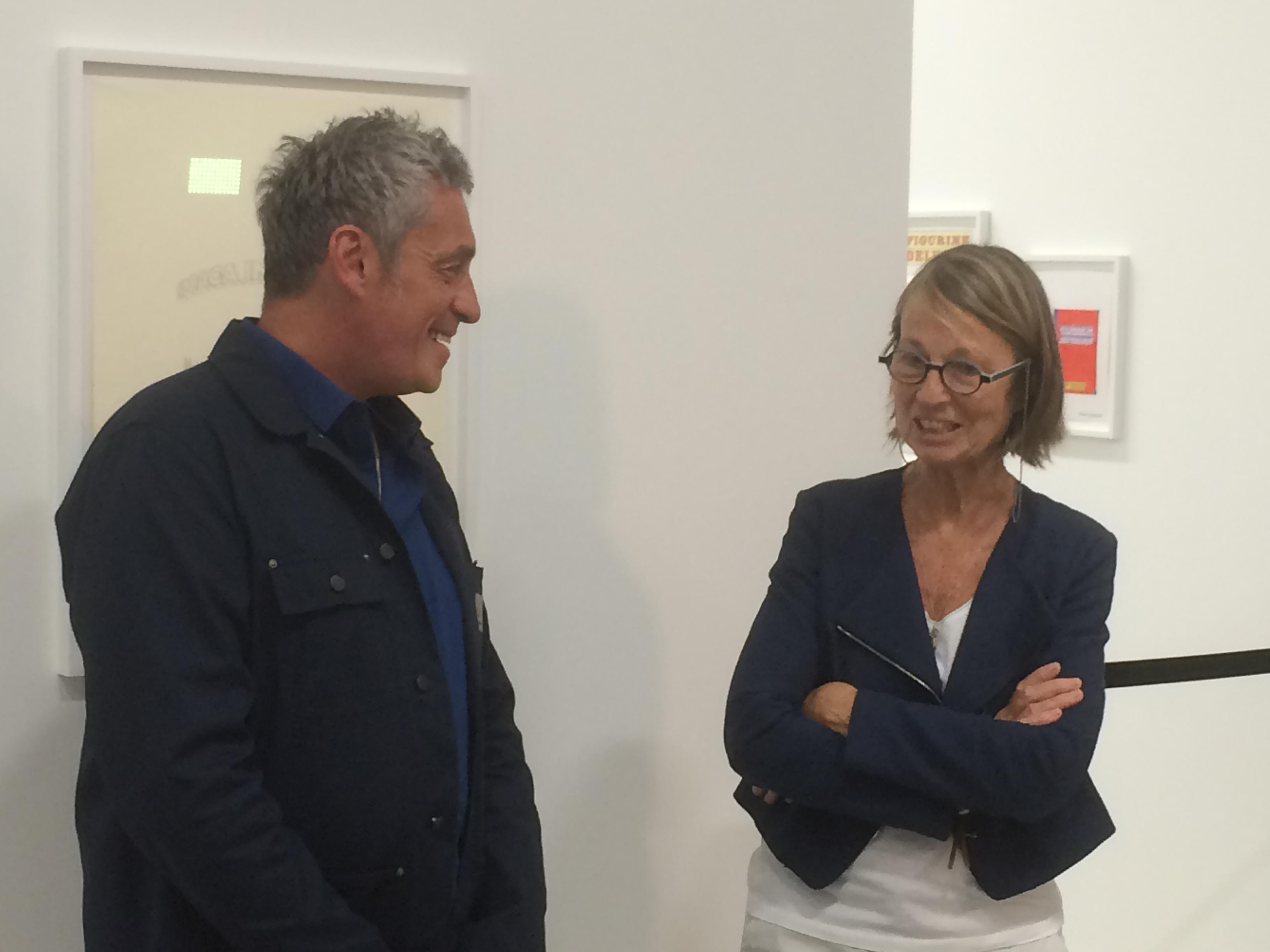 Philippe Saurel et Françoise Nyssen photo JMDI