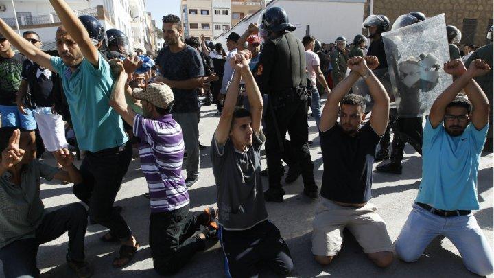 © Stringer, AFP | Les manifestants réclamaient la libération des leaders de leur mouvement jeudi 20 juillet.