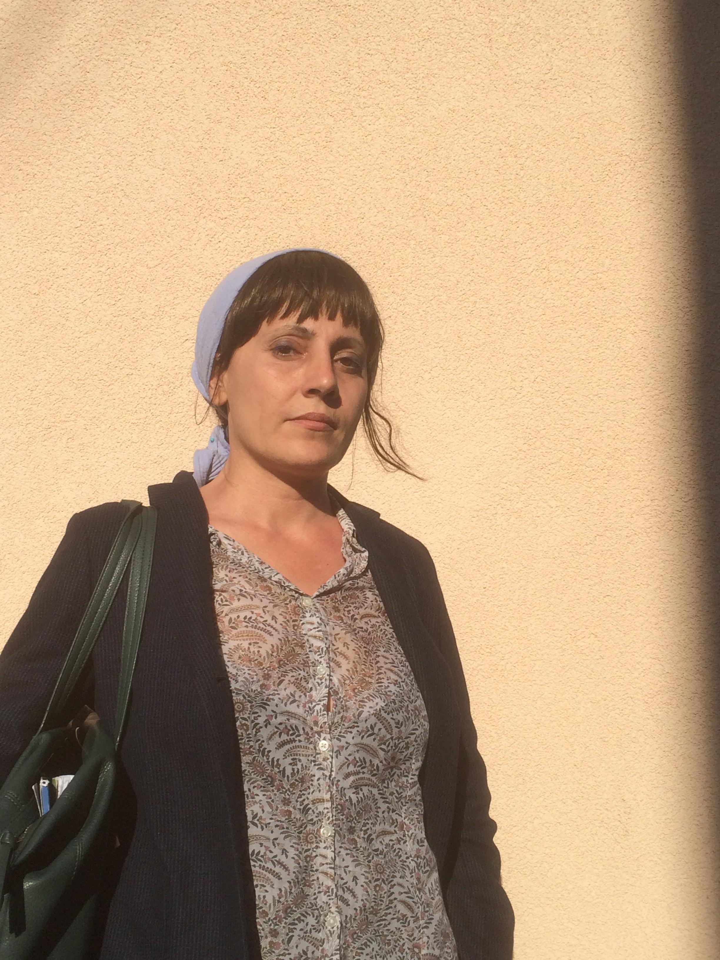Fadwa Suleimane à Sète : « Nous sommes les fantômes de ceux qui étaient là-bas. » Photo JMDH