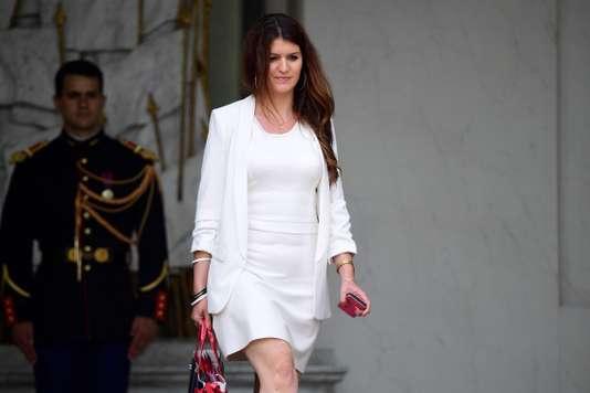 Marlène Schiappa, à l'Elysée, le 19 juillet 2017. Marlène Schiappa, à l'Elysée, le 19 juillet 2017. MARTIN BUREAU / AFP