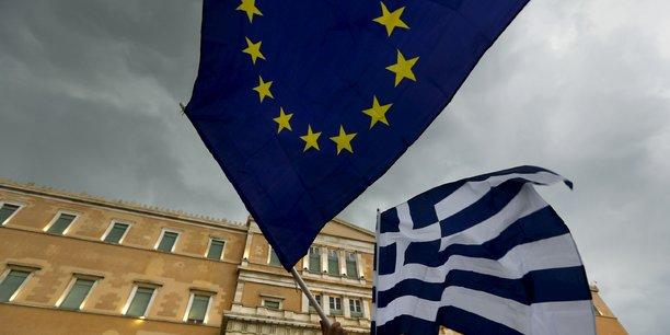 Le ministère des Finances allemand a rendu public les profits engrangés grâce aux intérêts des prêts accordés à la Grèce. (Crédits : Reuters Yannis Behrakis)
