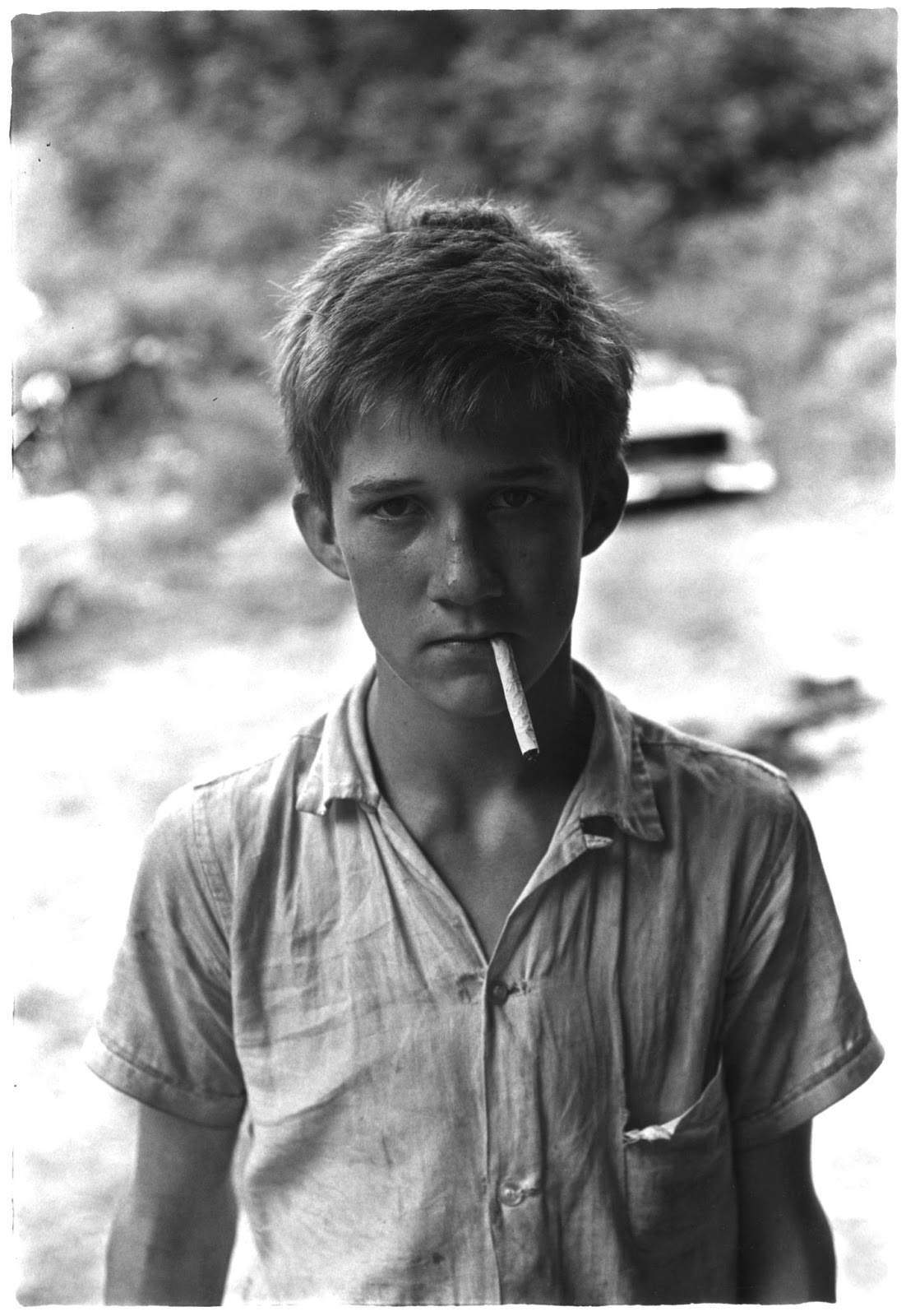 Kentucky, 1964 et 1972.  Photo William Gedney