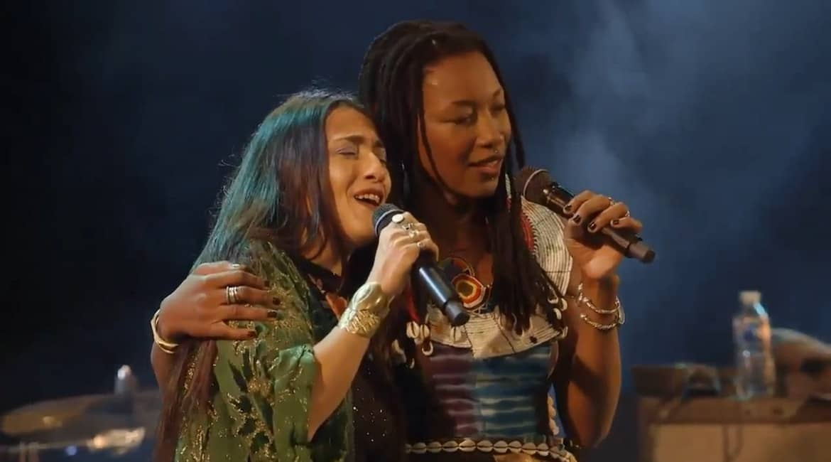 Hindi Zahra et Fatoumata Diawara  Crédit Photo dr