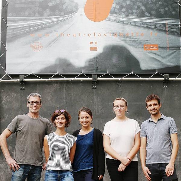 La jeune équipe du Théâtre de La Vignette Crédit Photo Dylan Lormeau