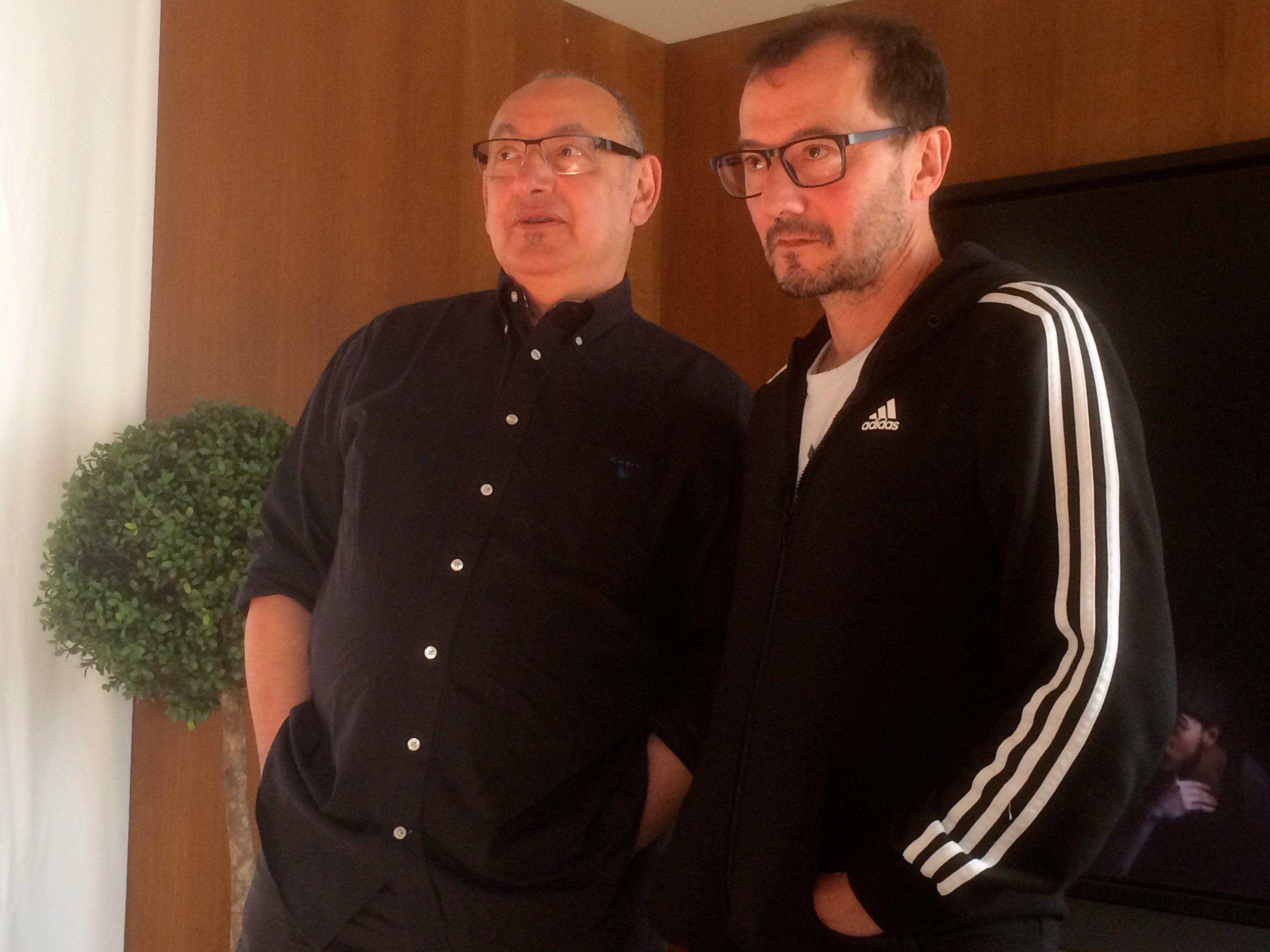 Jean-Paul Montanari et Rodrigo Garcia. Photo JMDI