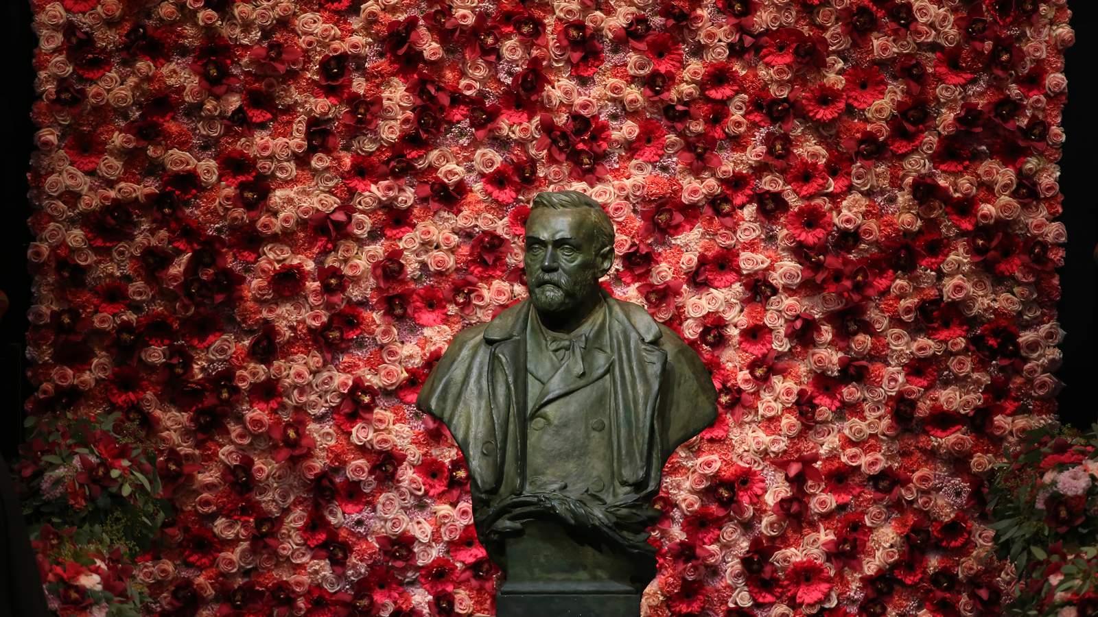 Un buste du chimiste suédois Alfred Nobel, le 10 décembre 2016 à Stockholm / © AFP/Archives/Soren Andersson