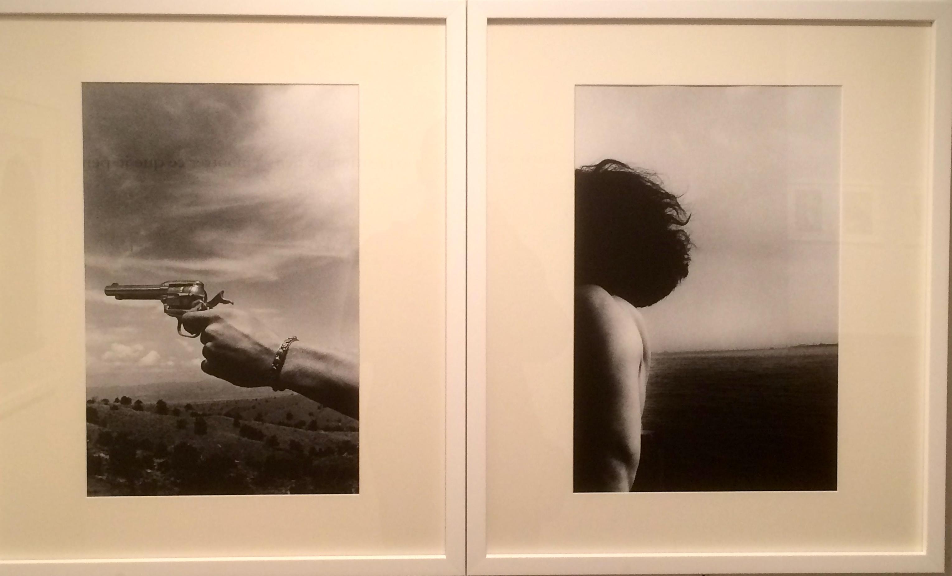 Ralph Gibson Déjà-vu : rapprochement visuel opéré en une image double étant lu comme unifiée.