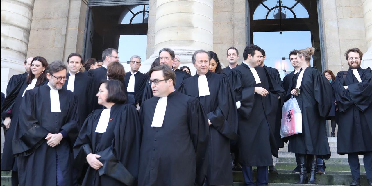 Magistrats, avocats et personnels judiciaires comptent dénoncer l'état de la justice en France jeudi prochain (image d'archives) @ JACQUES DEMARTHON / AFP