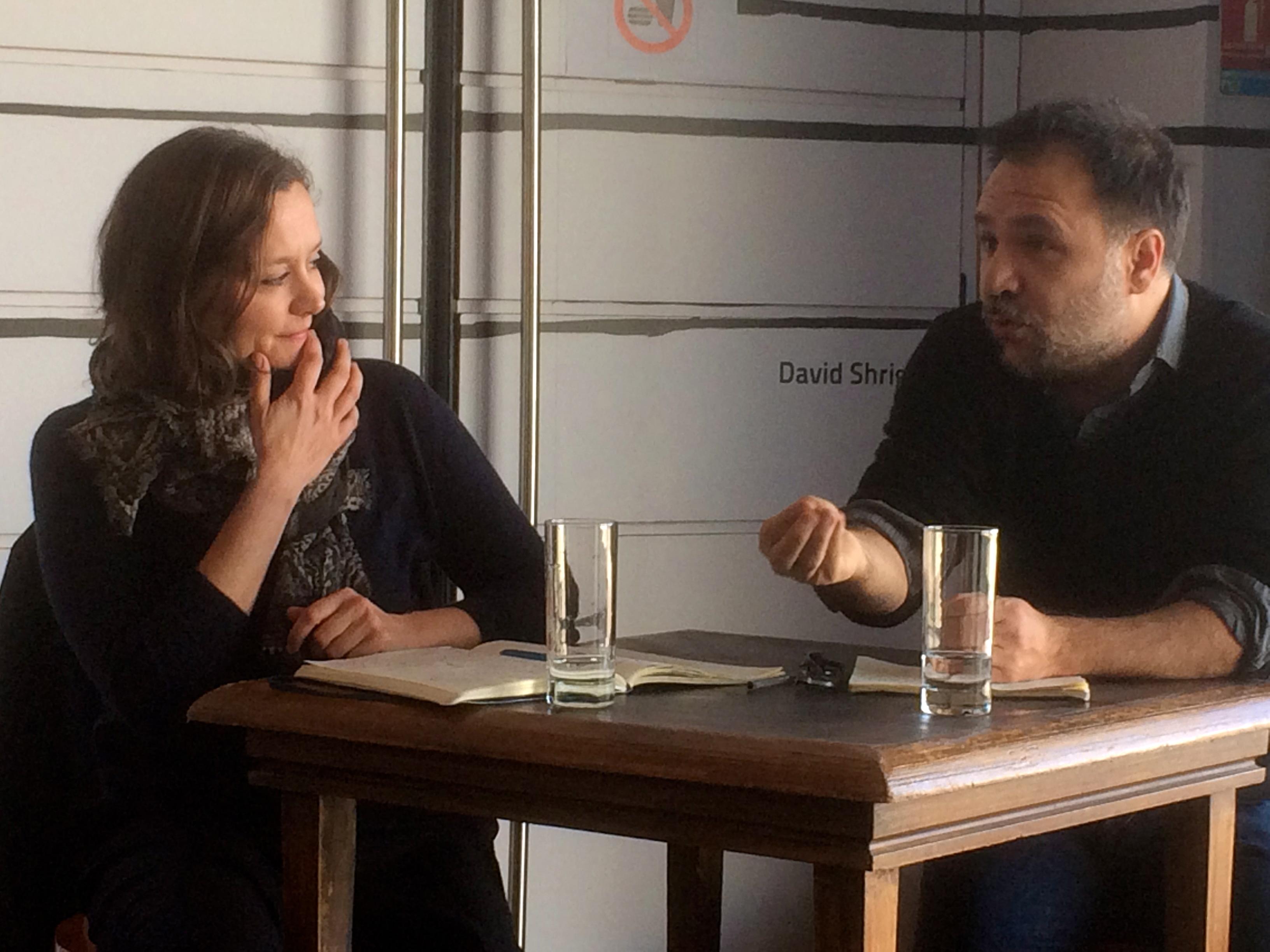 Nathalie Garraud et Olivier Saccomano entrent dans leur fonction au CDN.  Photo JMDH