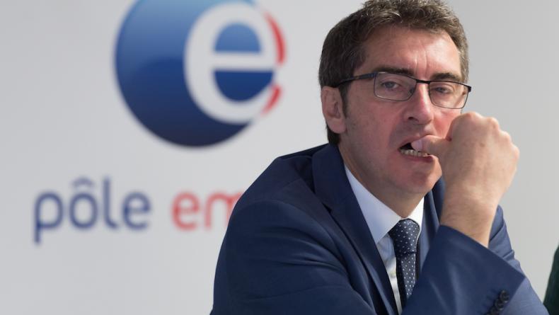 Le directeur général de Pôle emploi, Jean Bassères, a annoncé que 4.000 emplois pourraient disparaître lors d'une convention managériale. - WITT/SIPA