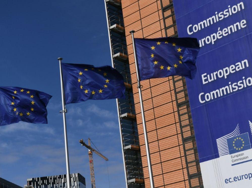 Le siège de la Commission européenne à Bruxelles. AFP Emmanuel Durand