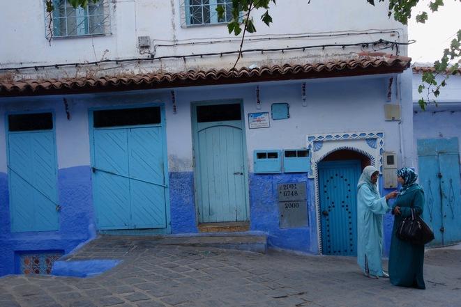 Chefchaouen, Maroc, 2016. © Rachida El Azzouzi