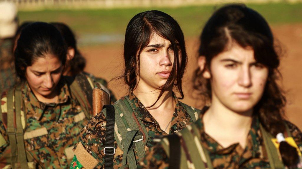 Des combattantes kurdes des Unités de protection du peuple (YPG). Delil Souleiman, AFP (archives)