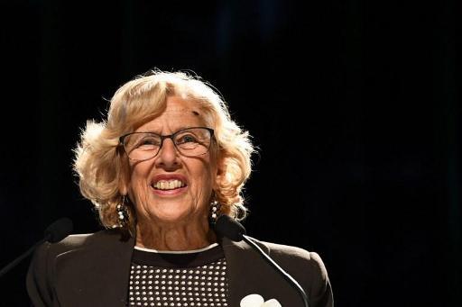 Le maire de Madrid Manuela Carmena